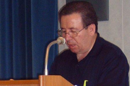 P. Antonio Fiorenza mentre presenta la 1ª parte della relazione del Governo.