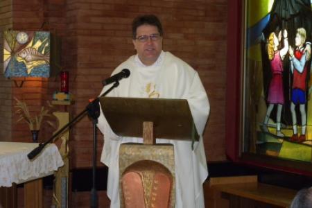 <p>Celebrazione eucaristica di apertura della Conferenza dei Superiori Maggiori</p>