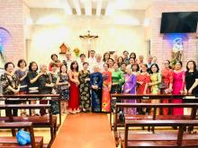 After the year-end Thanksgiving Mass with friends, benefactors and lay people who share the charism of the Rogate in Vietnam.
