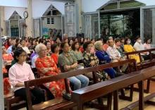 During the Year-end Thanksgiving Mass with friends, benefactors and lay people who share the charism of the Rogate in Vietnam.