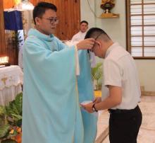 Fr. Kristian Taok, Rogationist Seminary, Cebu.