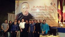 The delegation from Indonesia with Fr. Rampazzo, Fr. Abcede and Fr. Ezpeleta.