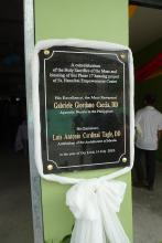 Marker of the event.