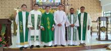 St. Anthony's Boys Village, Davao - renewal of vows.