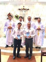 Two Postulants in Vietnam.