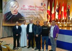 Members of the Provincial Chapter Presidential Board: President - Fr. Bruno Rampazzo; 1st Moderator: Fr. Danny Montana; 2nd Moderator: Fr. Ulrich Gacayan; Secretary: Bro. Christian De Sagun; Scrutineers: Deacons Al John Provido and Jorge Casaberde.