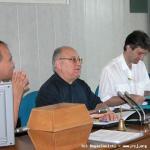 Il Presidente del Capitolo legge il regolamento per l'elezione (del Superiore Generale)