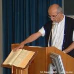P. Giorgio fa il giuramento di accettazione del mandato come Superiore Generale.