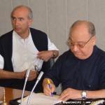 P. Pietro Cifuni, Presidente del Capitolo, contrassegna il documento.