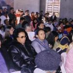 Festa di Santo Annibale nella cappella a lui dedicata. Rione Jardim União, costruito in terre occupate.