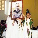 Il quadro del nuovo santo venerato ormai nella diocesi di Edea – Cameroun.
